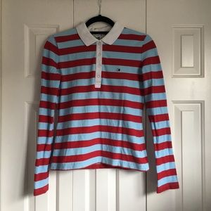 Striped Tommy Hilfiger Long-Sleeve Shirt